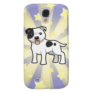 Little Star Staffordshire Bull Terrier Samsung S4 Case