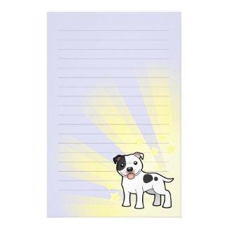 Little Star Staffordshire Bull Terrier Stationery