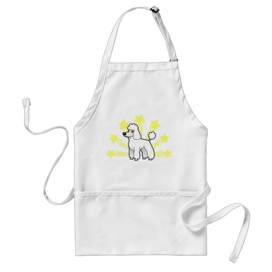 Little Star Standard/Miniature/Toy Poodle pup cut Adult Apron