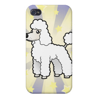 Little Star Standard/Miniature/Toy Poodle pup cut iPhone 4/4S Cover