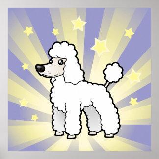 Little Star Standard/Miniature/Toy Poodle pup cut Poster
