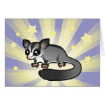 Little Star Sugar Glider Greeting Card