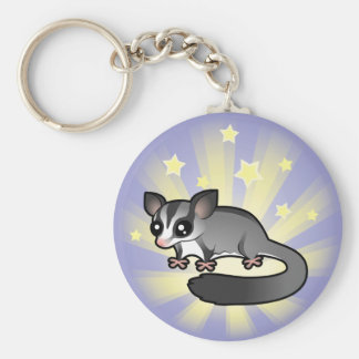 Little Star Sugar Glider Keychain