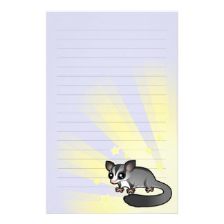 Little Star Sugar Glider Stationery