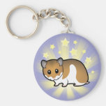 Little Star Syrian Hamster Key Chain
