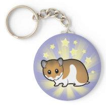 Little Star Syrian Hamster Keychain