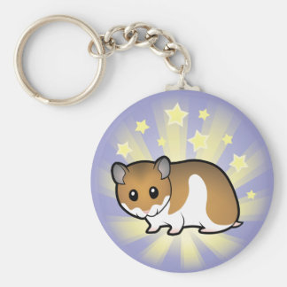 Little Star Syrian Hamster Keychain