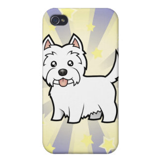 Little Star West Highland White Terrier Case For iPhone 4