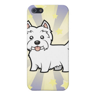 Little Star West Highland White Terrier Cover For iPhone SE/5/5s
