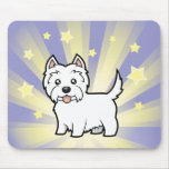 Little Star West Highland White Terrier Mouse Pad