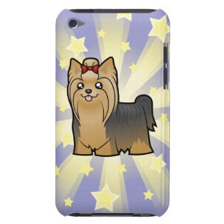 Little Star Yorkshire Terrier (long hair with bow) Barely There iPod Cover
