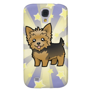 Little Star Yorkshire Terrier (short hair no bow) Samsung Galaxy S4 Cover