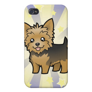 Little Star Yorkshire Terrier (short hair no bow) iPhone 4/4S Cover