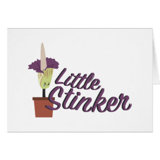Little Stinker Card