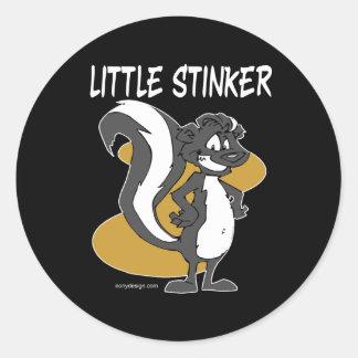 Little Stinker Classic Round Sticker