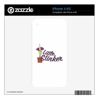 Little Stinker iPhone 4S Decal