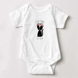 Little Stinker Personalized Baby Skunk Baby Bodysuit
