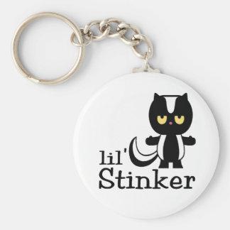 Little Stinker Skunk Baby Key Chain