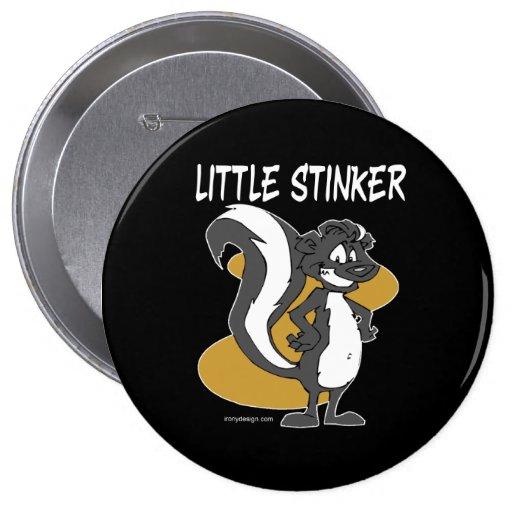 Little Stinker Skunk Button