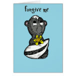 Little Stinker Skunk I'm Sorry Greeting Card