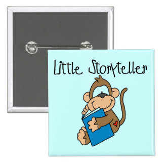 Little Storyteller Tshirts and Gifts Pins