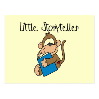 Little Storyteller Tshirts and Gifts Postcard