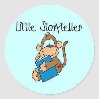 Little Storyteller Tshirts and Gifts Stickers