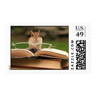 Little Studious Chipmunk Postage