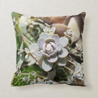 Little succulent throw pillow