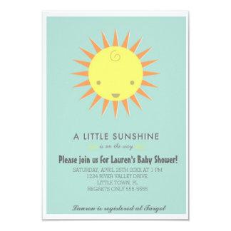 Little Sunshine Baby Shower Card