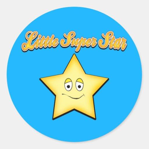 Little Super Srat Classic Round Sticker