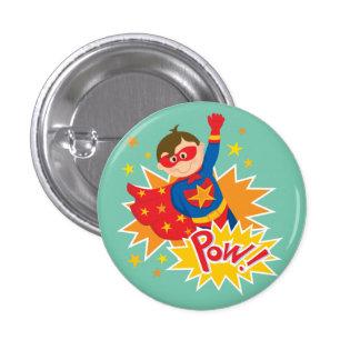 Little Superhero Button