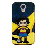 Little Superhero iphone 3G Case Samsung Galaxy S4 Cases