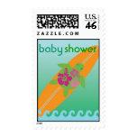 Little Surf Rider Honu Baby Shower Postage Stamp
