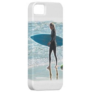 Little Surfer Girl iPhone 5/5S, Barely There iPhone 5 Covers