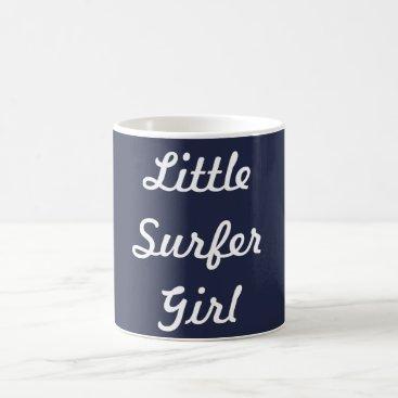 Beach Themed Little Surfer Girl Mug