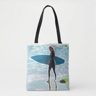 Little Surfer Girl Tote