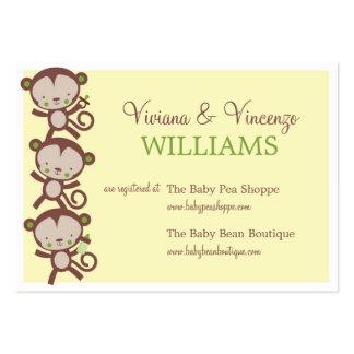 LITTLE  SURPRISE  | BABY SHOWER REGISTRY CARDS