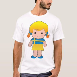 Little Swedish Girl T-Shirt
