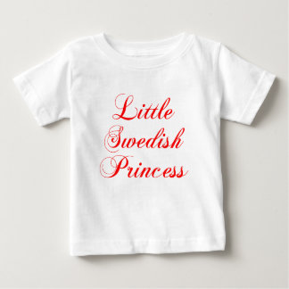 Little Swedish Princess Baby T-Shirt