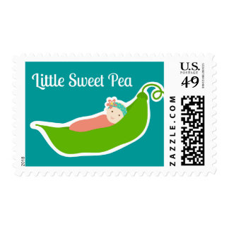 Little Sweet Pea In a Pod, postage
