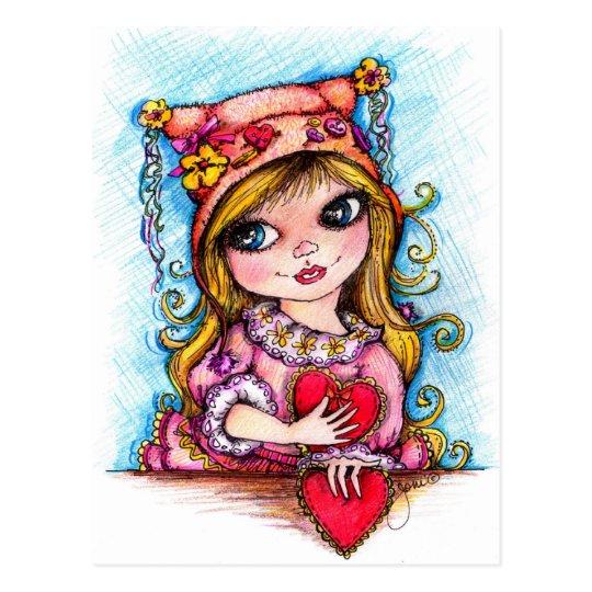 Little Sweetheart Postcard