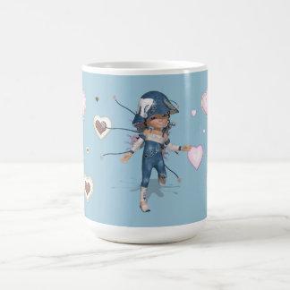 Little Sweetie - Cup blue JEANS CLASSIC Taza De Café