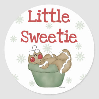 Little Sweetie Tshirts and Gifts Classic Round Sticker