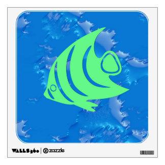 little swimmer wall decal