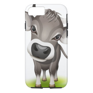 Little swiss cow iPhone 8/7 case