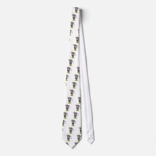 Little swiss cow neck tie