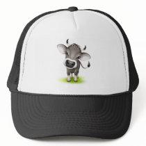 Little swiss cow trucker hat