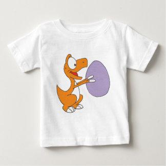 Little T holding egg Baby T-Shirt