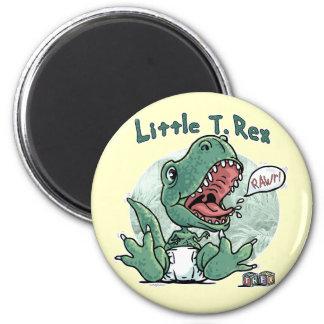 Little T. Rex by Mudge Studios Magnets